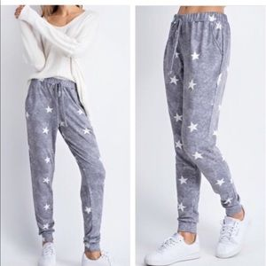 Pants - REORDER! ⭐️💕French Terry Star Jogger!